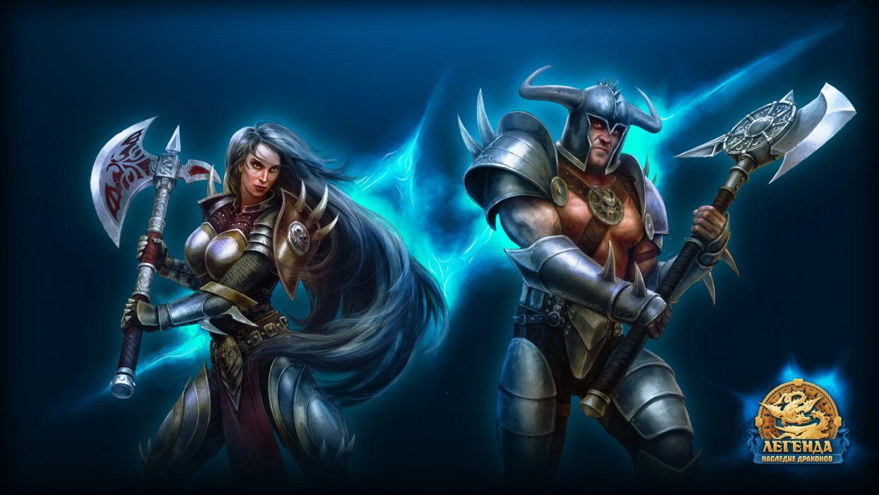 Legend Legacy of the Dragons      q wallpaper