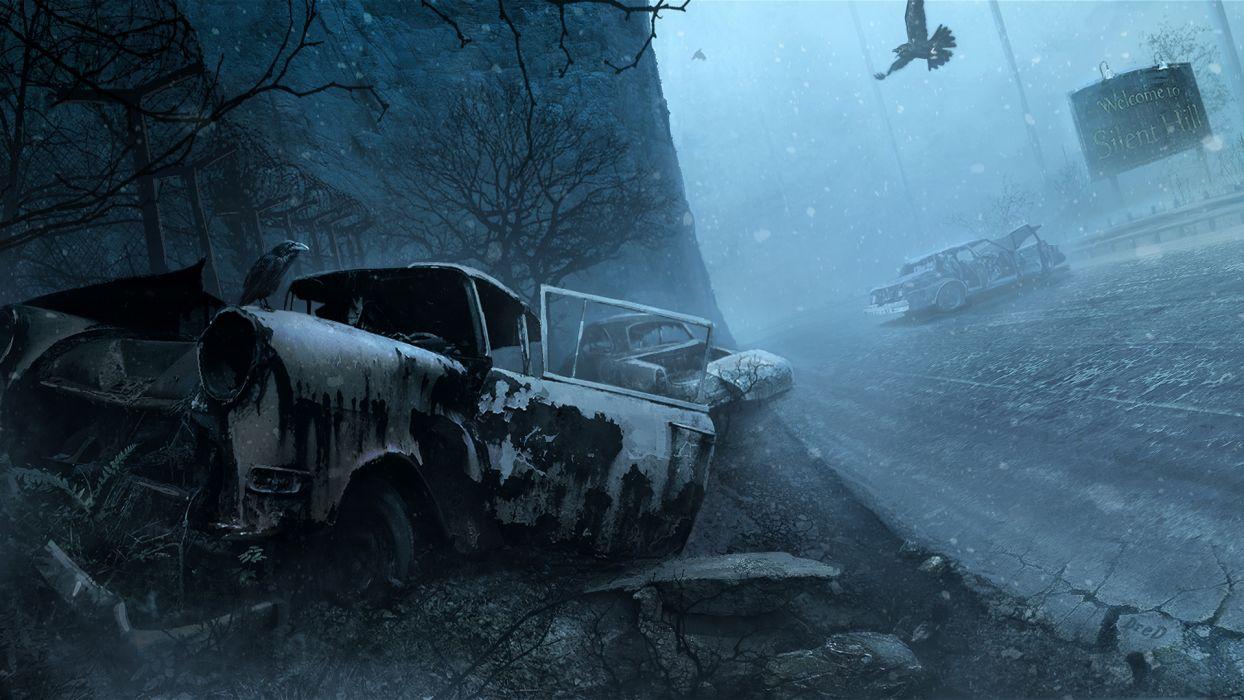 Silent Hill dark wallpaper