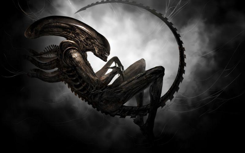 Alien aliens movies sci-fi wallpaper