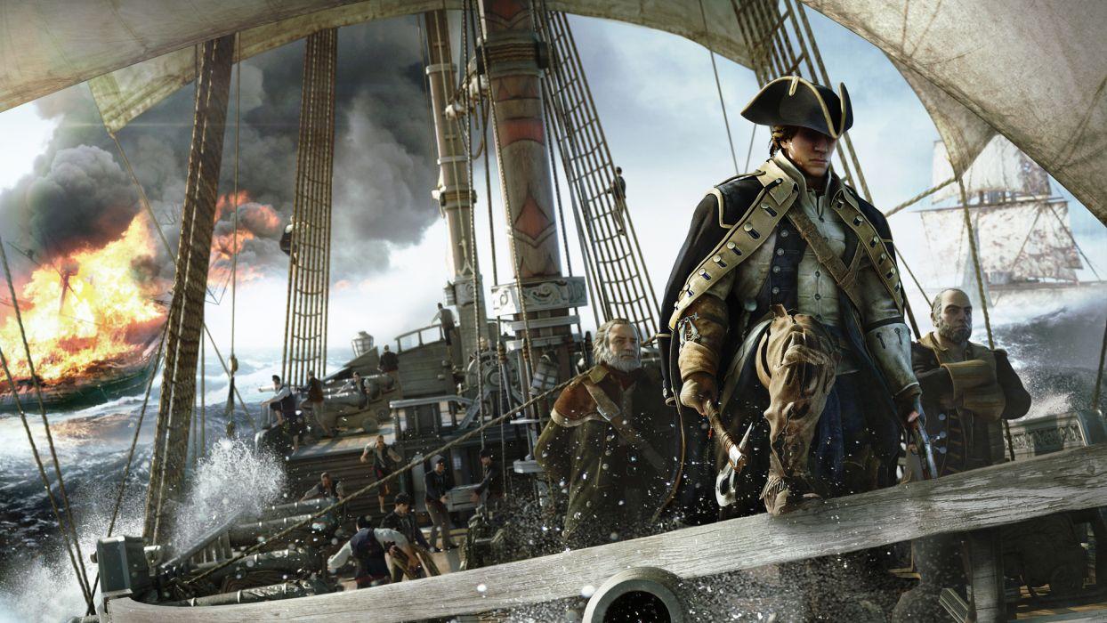 Assassin's Creed III Liberation girl assassin Evelyn fantasy wallpaper