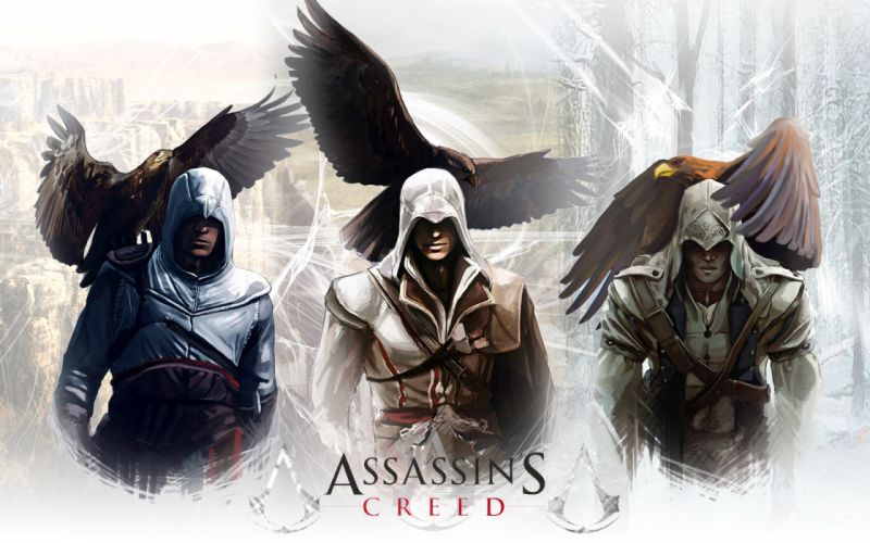 Assassin's Creed Warriors Eagles Connor Kenway Games wallpaper