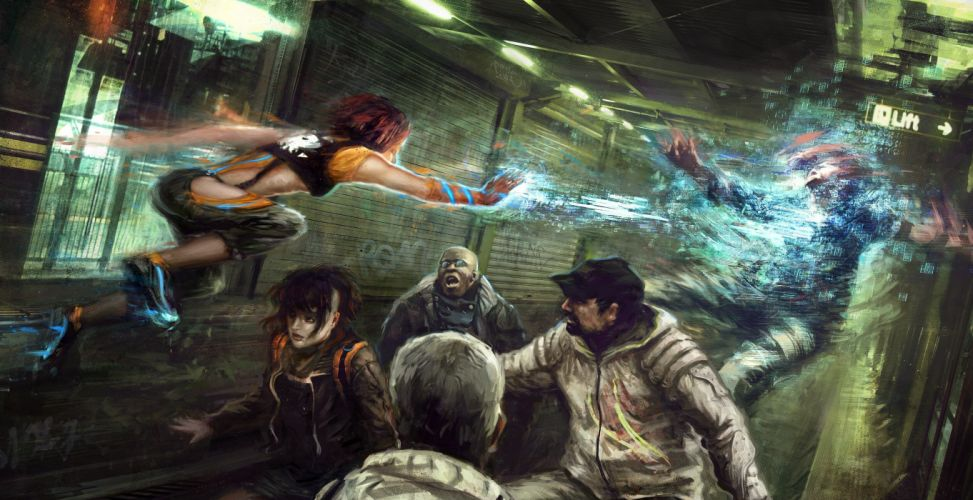 Battles Magic People Fantasy wallpaper
