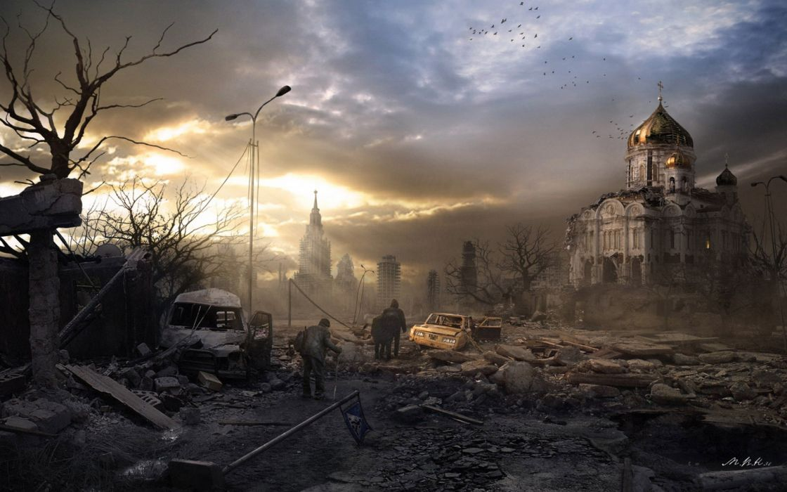 city aeYaeYoffice art end of the world nuclear war apocalyptic wallpaper
