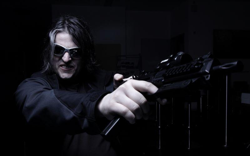 dark men males weapons weapon wallpaper