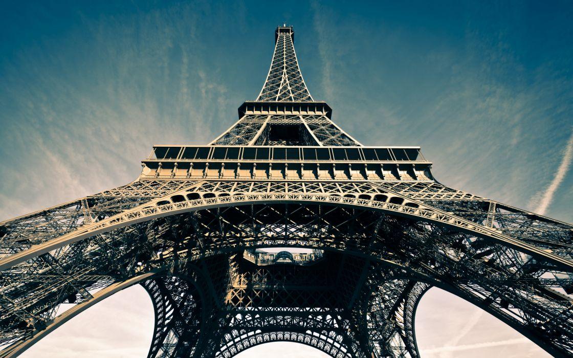La tour Eiffel Eiffel Tower Paris France wallpaper