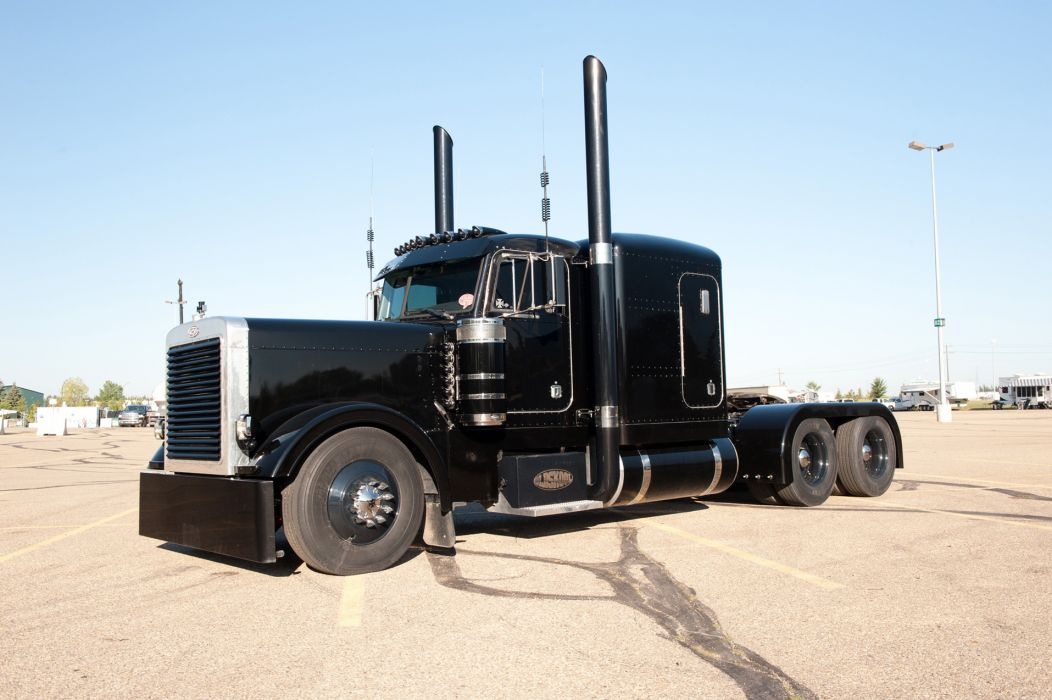 Peterbilt Trucks big rigs rig tractor semi wallpaper