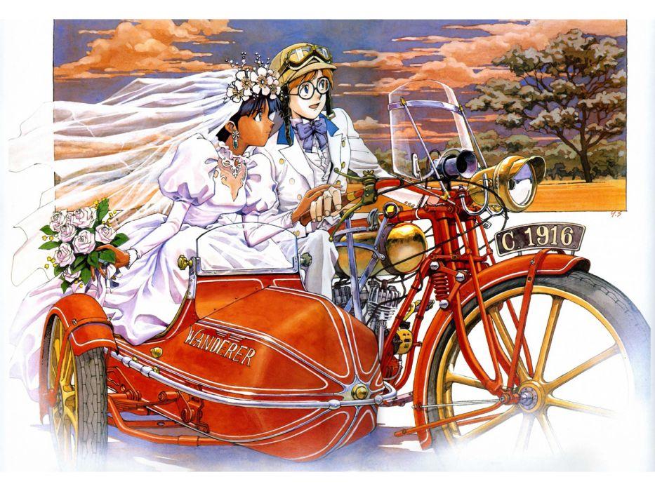 fushigi no umi no nadia jean roc lartigue nadia sadamoto yoshiyuki wallpaper