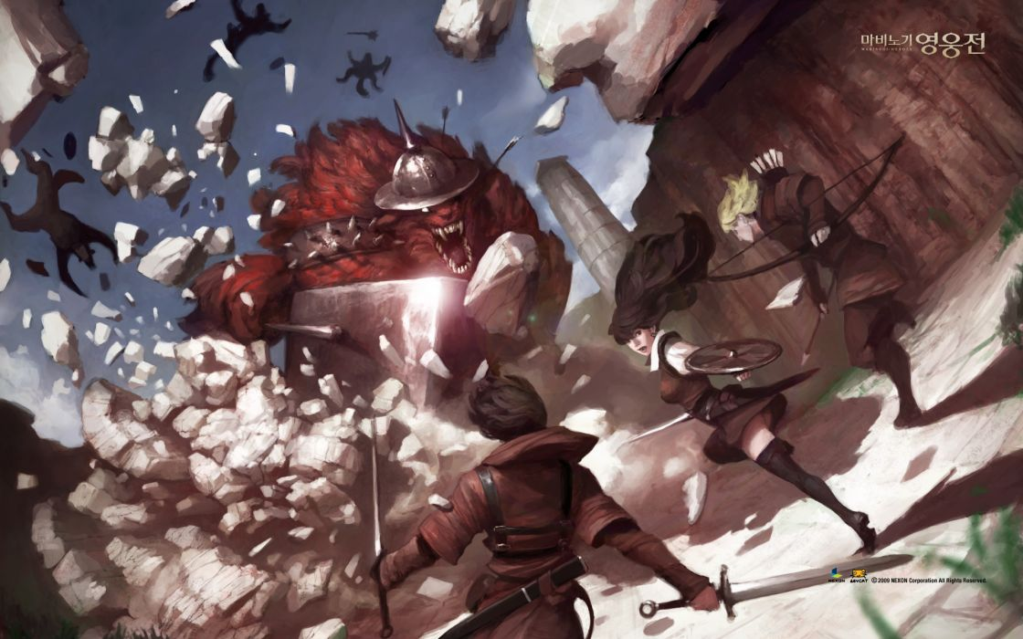 armor vindictus weapon  y wallpaper