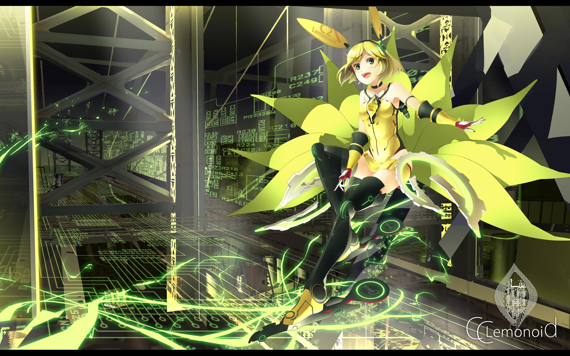 c c lemon character yoshino ryou wallpaper 1920x1200 78363 wallpaperup