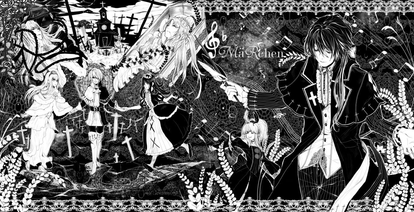dornroschen elisabeth von wettin elyse erotatsu marchen marchen von friedhof monochrome nun (marchen) schneewittchen sound horizon tettere wallpaper