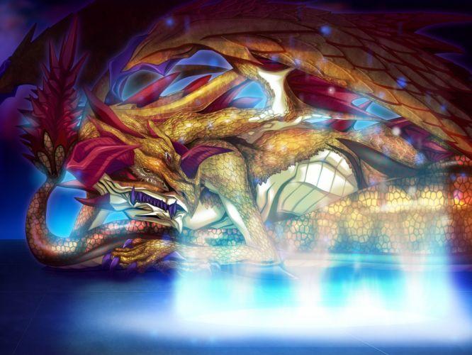 dragon game cg princess x wallpaper