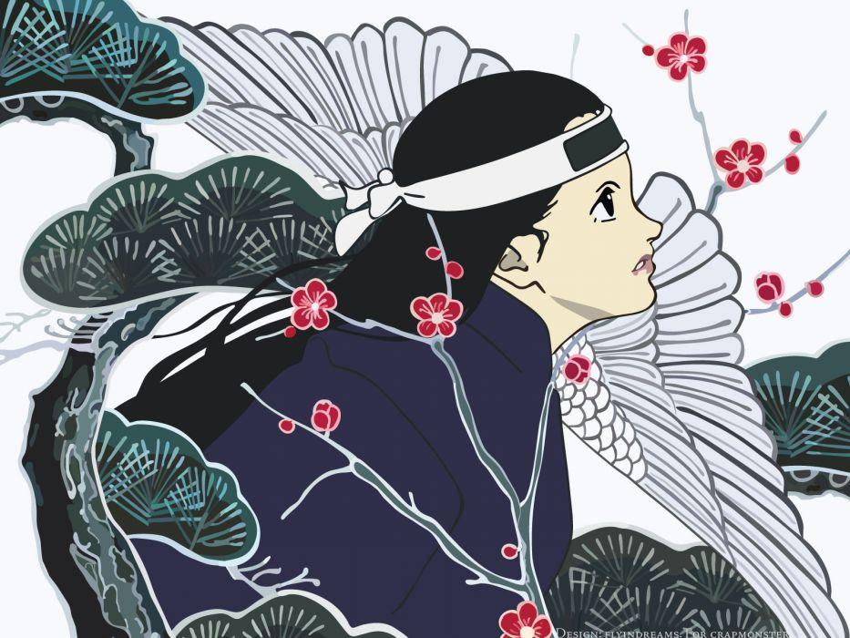 fujiwara chiyoko sennen joyuu      t wallpaper