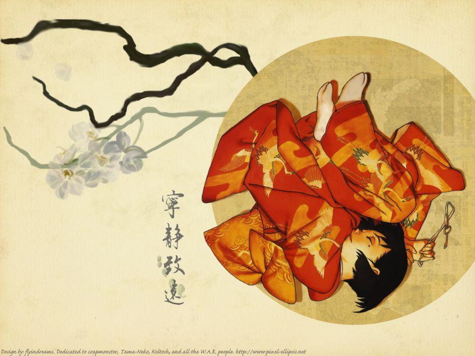 fujiwara chiyoko sennen joyuu wallpaper