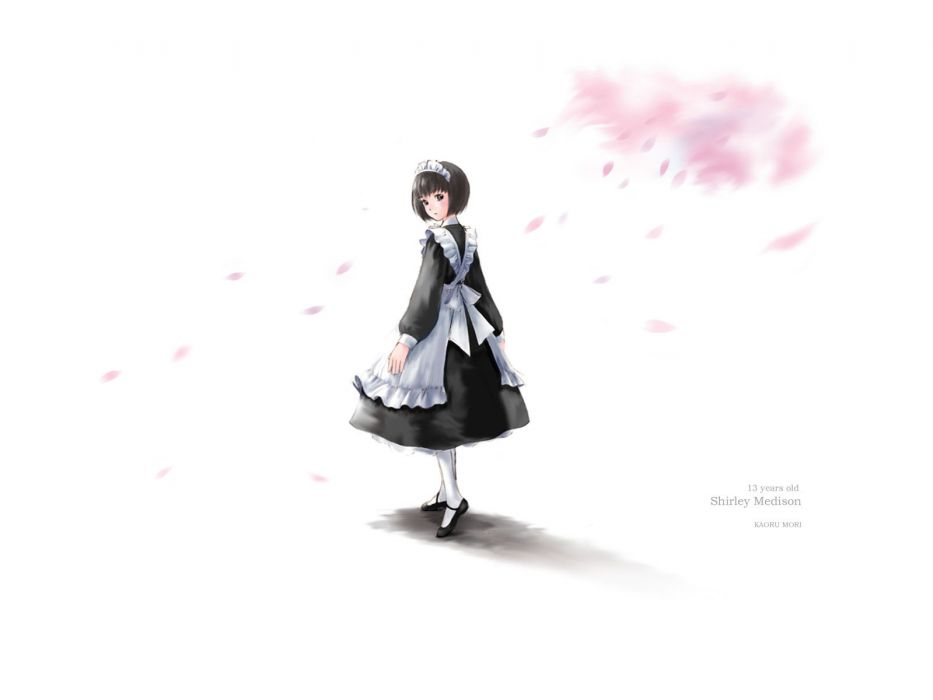 loli maid mori kaoru shirley (manga) shirley madison wallpaper