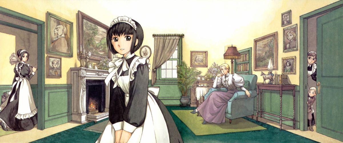 maid mori kaoru shirley (manga) shirley madison tagme wallpaper