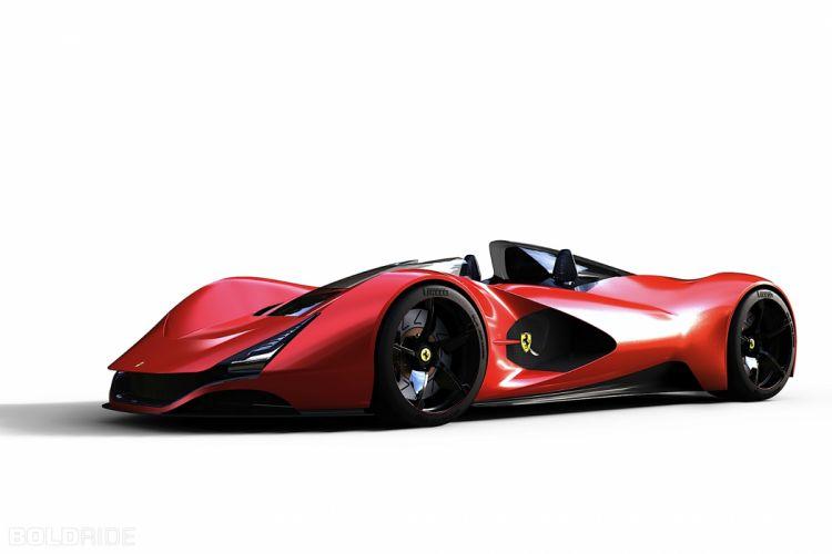 2011 Ferrari Aliante Concept supercar supercars wallpaper
