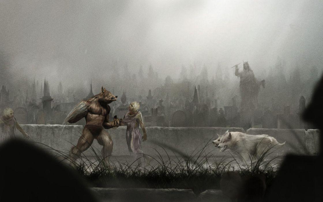 Altered Beast Werewolf Wolf wallpaper