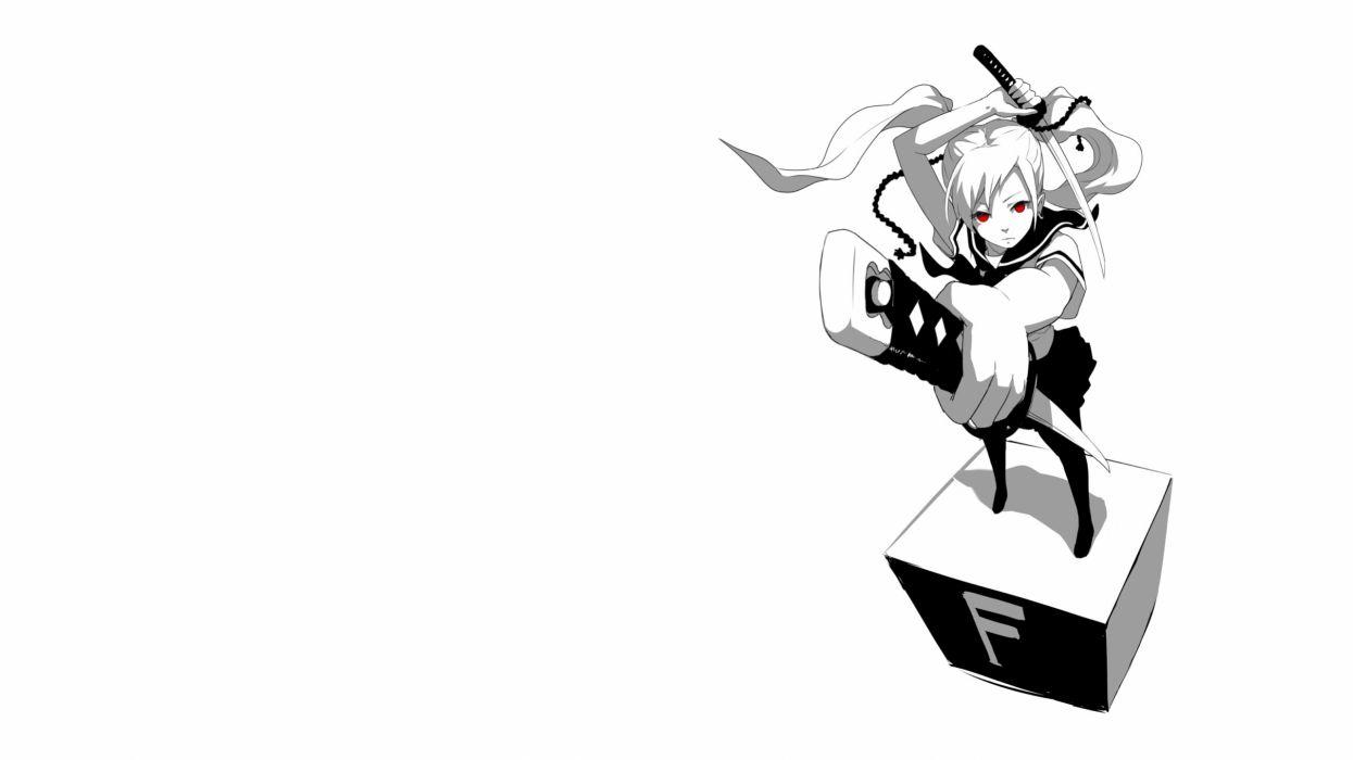 anime white sword katana wallpaper | 2560x1440 | 78560 | wallpaperup