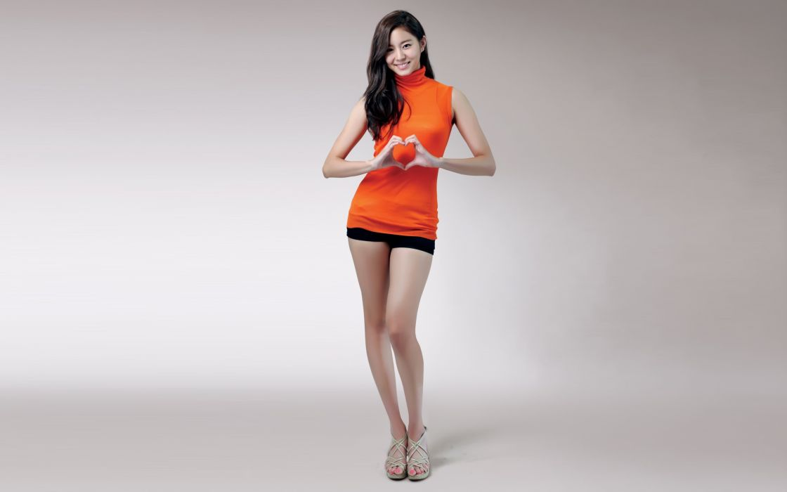 Asian Legs Brunette Uee wallpaper
