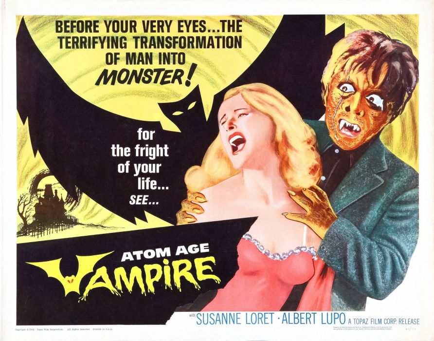 atom age vampire poster wallpaper