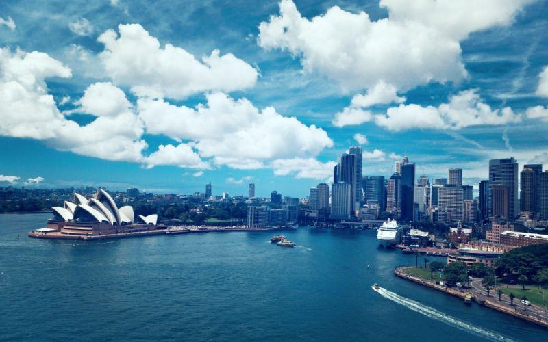 Australia Sydney Opera House wallpaper