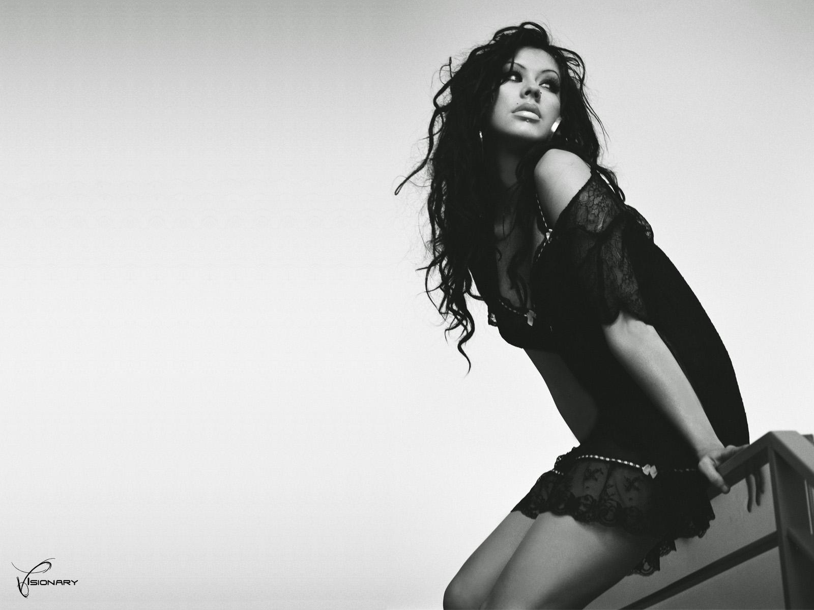 Christina Aguilera Music Celebrities Girls f wallpaper
