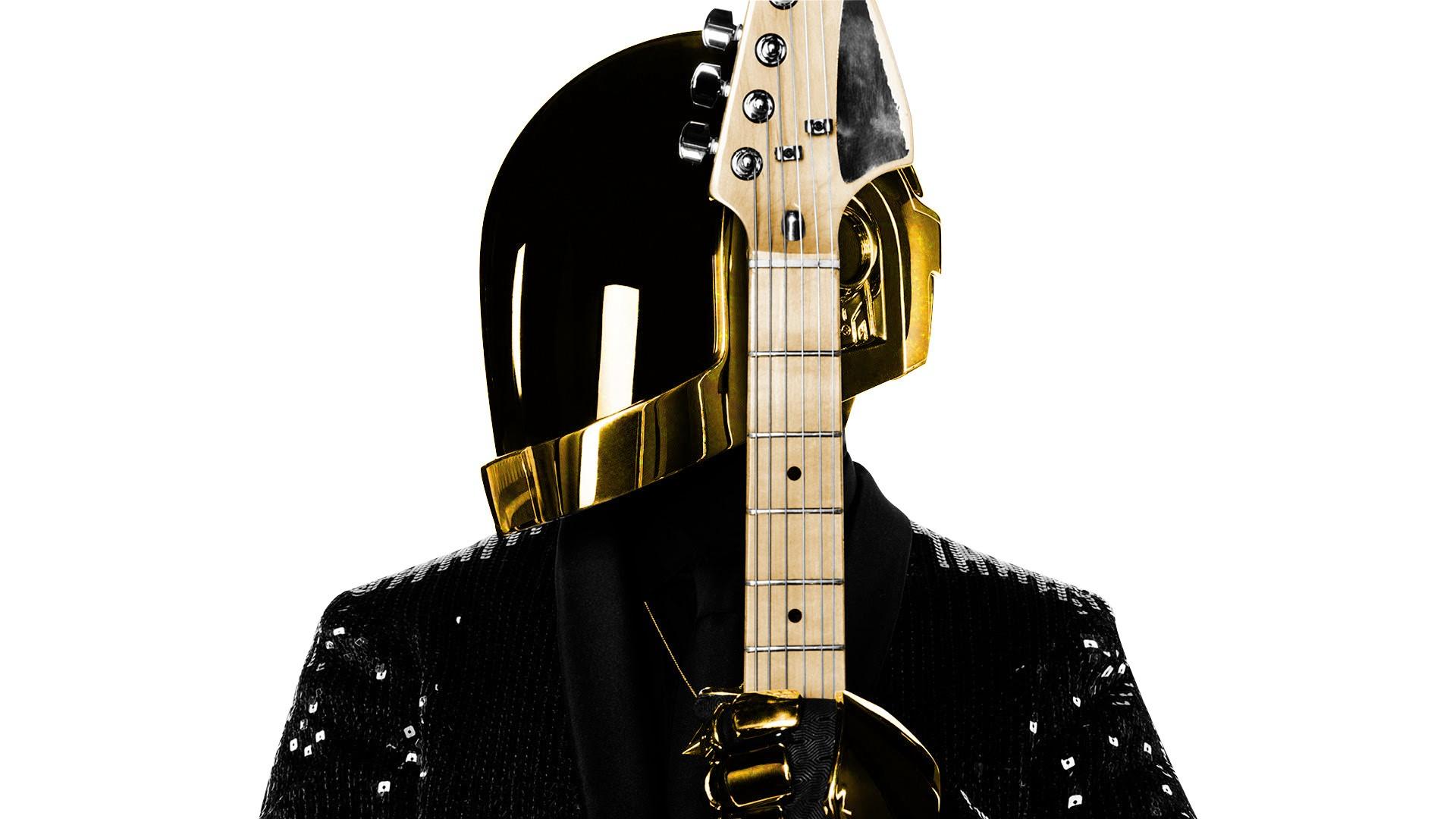 Daft Punk Guitar White wallpaper   1920x1080   78684   WallpaperUP