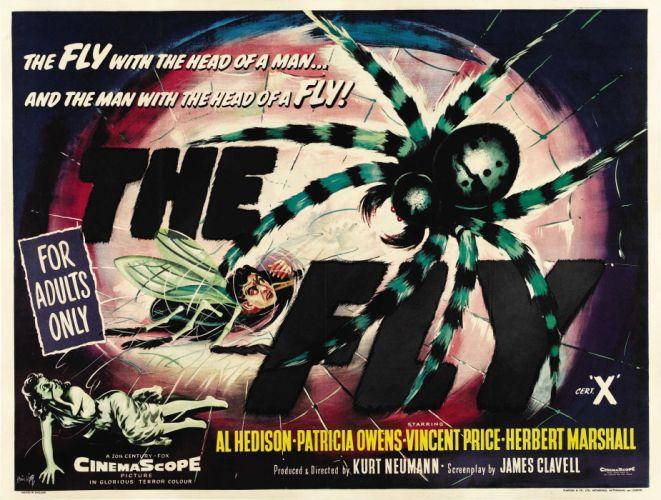fly 1958 poster wallpaper