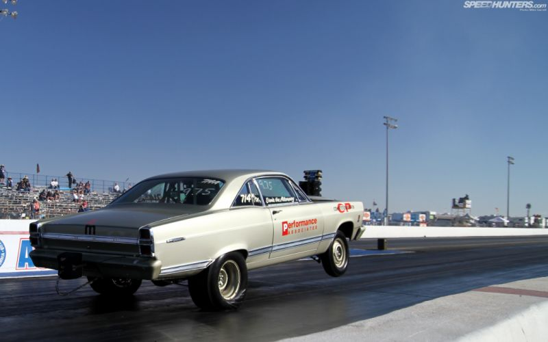Ford Drag Race Drag Strip Launch Wheelie wallpaper