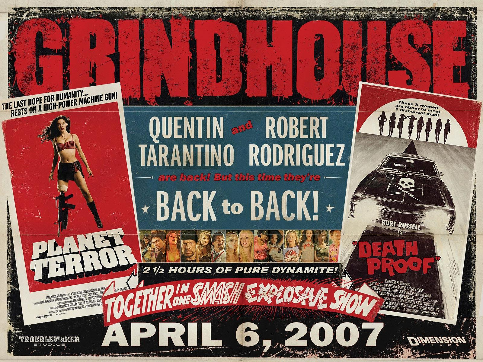 Grindhouse Planet Terror Death Proof Grindhouse Planet Terror Death