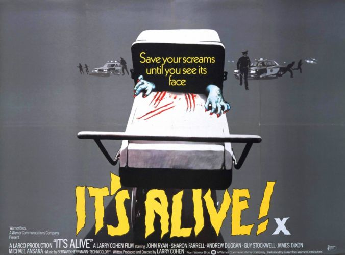 It's Alive Movie Poster wallpaper