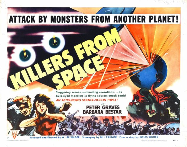 Killers From Space Movie Poster wallpaper