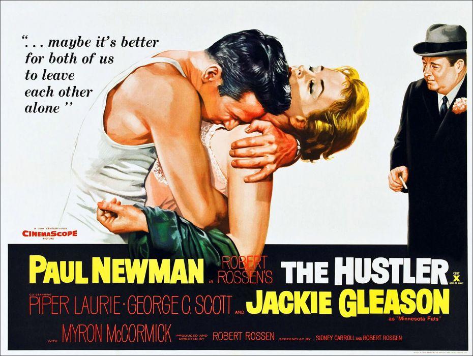 Movie Poster The Hustler Embrace wallpaper
