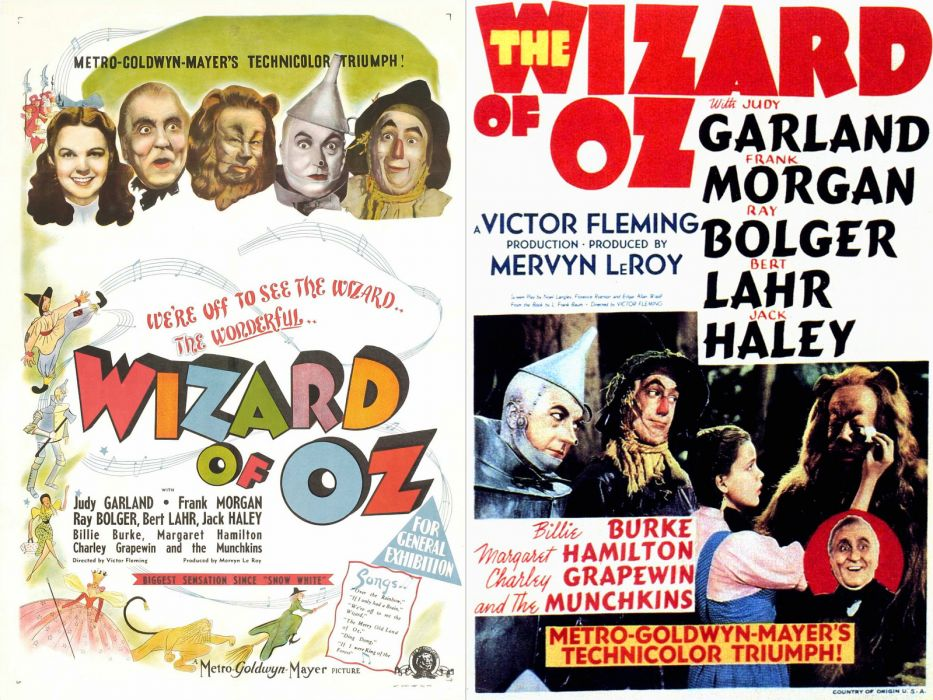 Movie Poster Wizard of Oz wallpaper