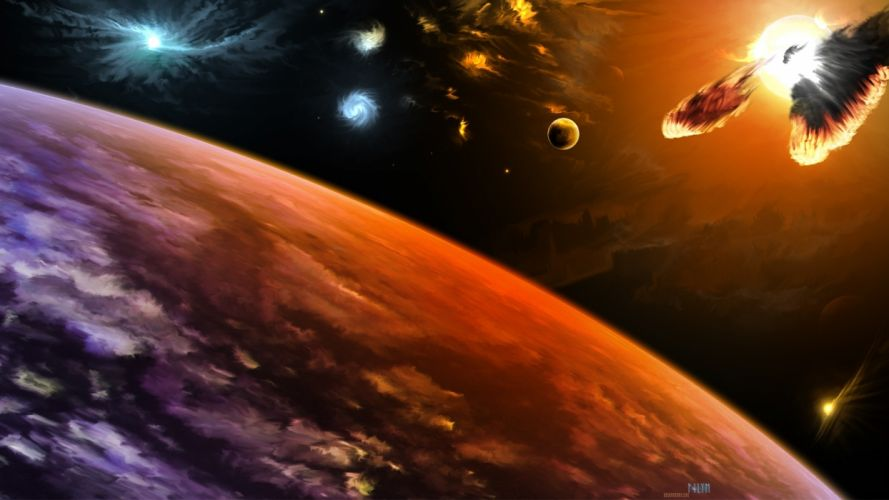 outer space science fiction Industry Science wallpaper