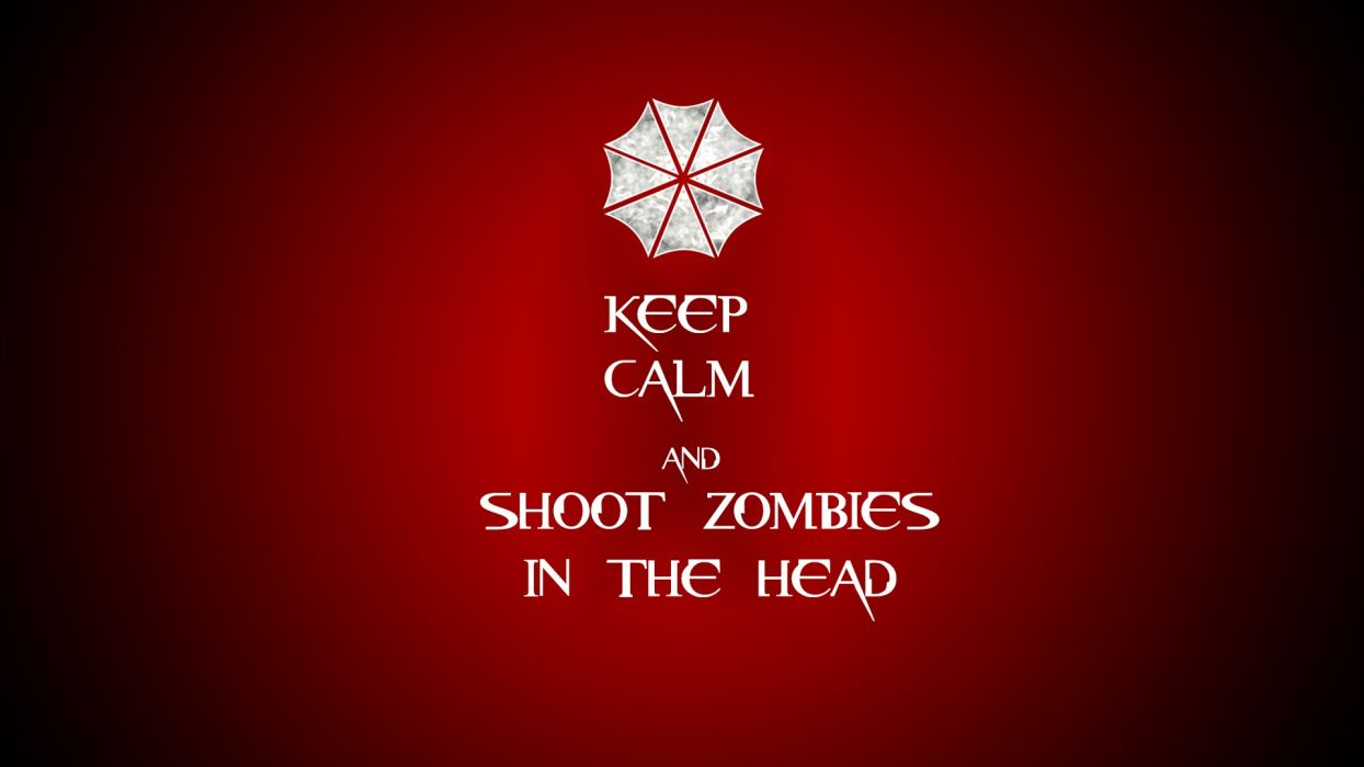 Resident Evil Red Zombies wallpaper