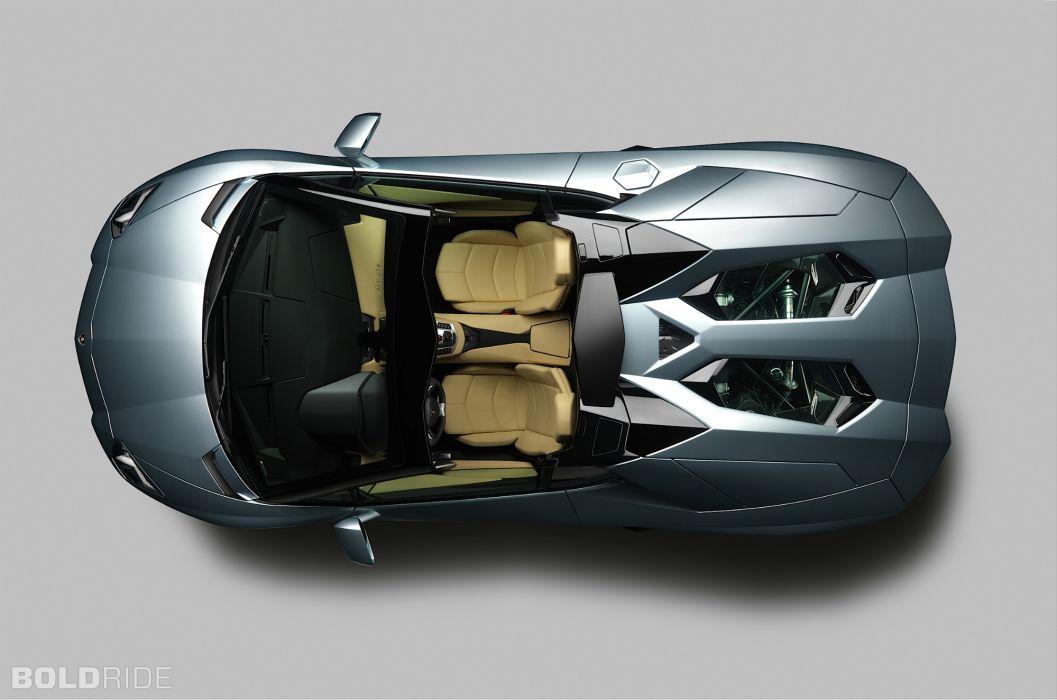 Roadster 2013 Lamborghini Aventador LP700-4 supercar supercars        u wallpaper