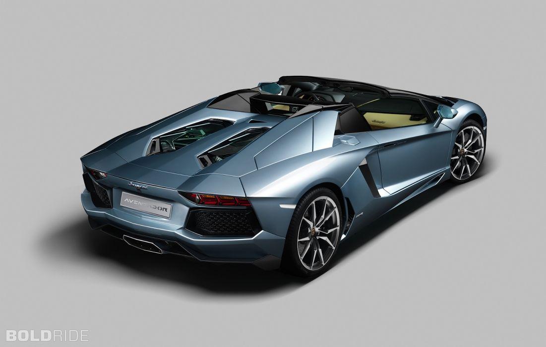 Roadster 2013 Lamborghini Aventador LP700-4 supercar supercars      f wallpaper