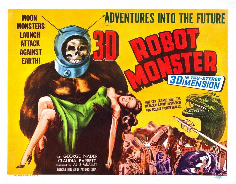robot monster poster wallpaper