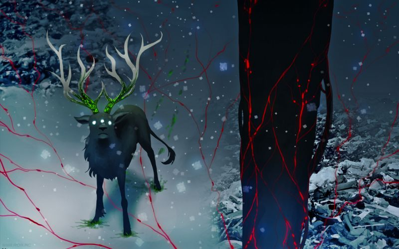 Romantically Apocalyptic Drawing Creature Snow sci-fi comics wallpaper