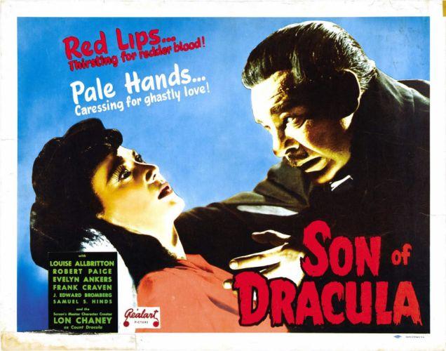 son of dracula 1943 poster wallpaper