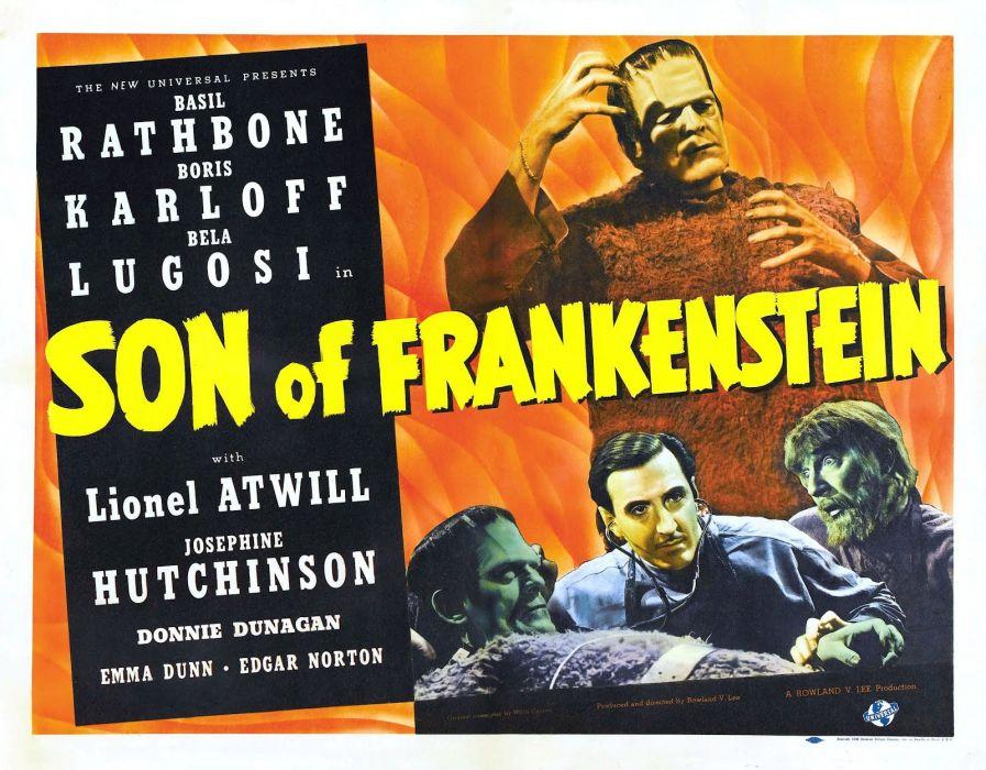 son of frankenstein poster     a wallpaper