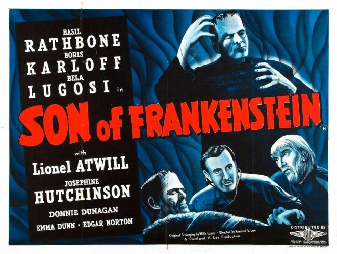 son of frankenstein poster wallpaper