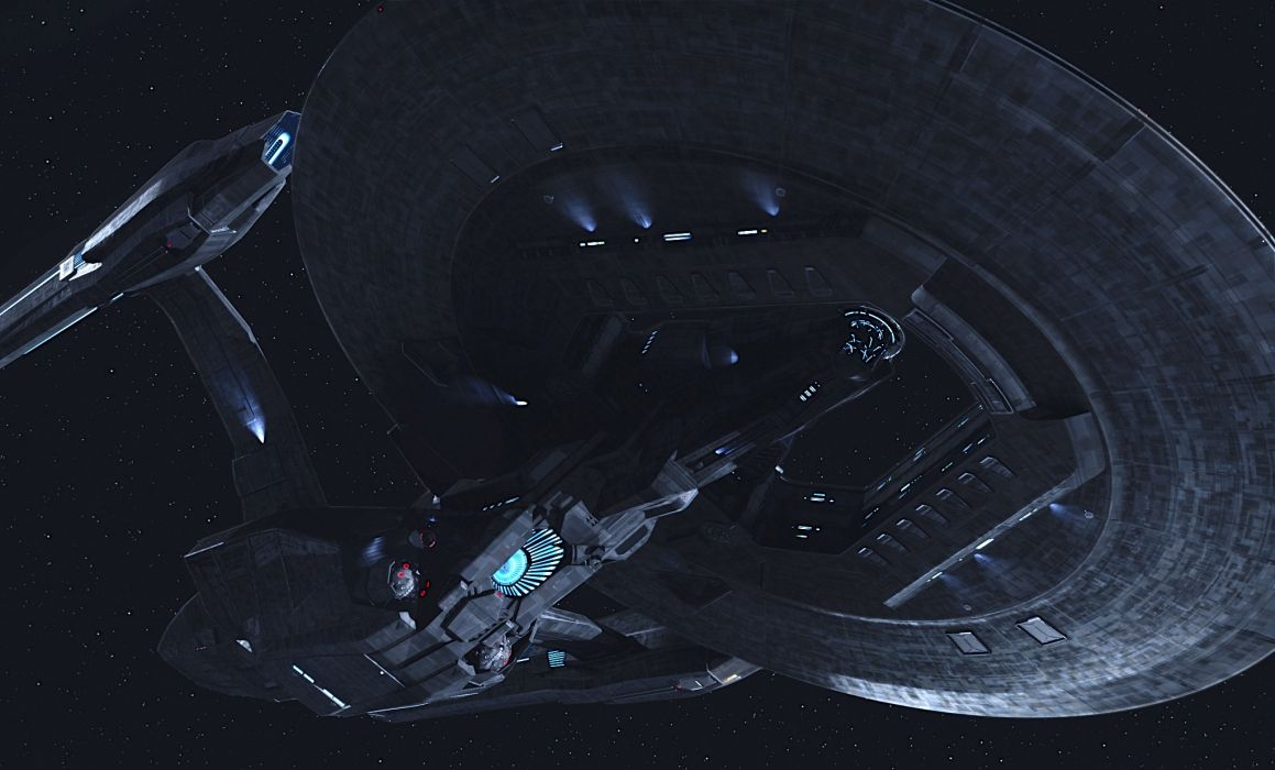 Star Trek Starship Enterprise Spaceship Dark Enterprise Into Darkness movies sci-fi sci wallpaper