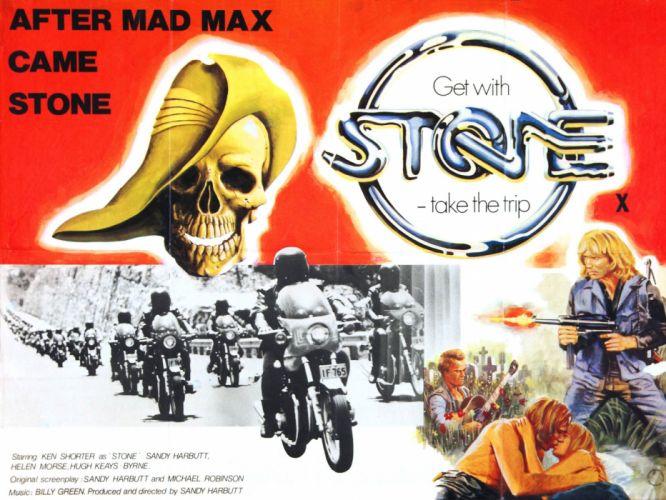 stone 1974 poster wallpaper
