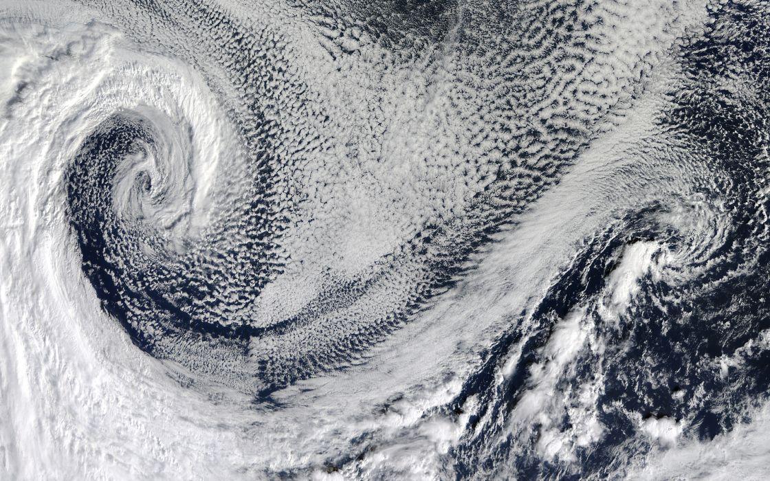 Storm Clouds Aerial wallpaper