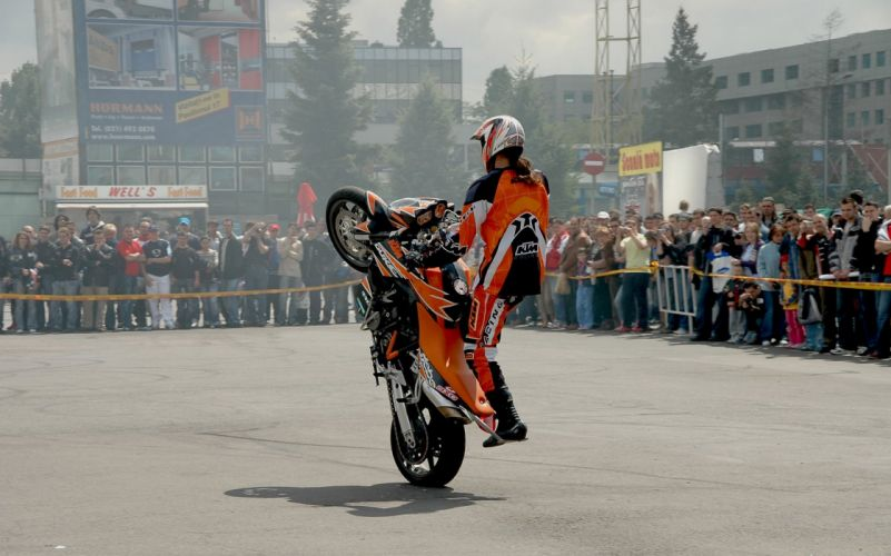 Stunt KTM Wheelie wallpaper