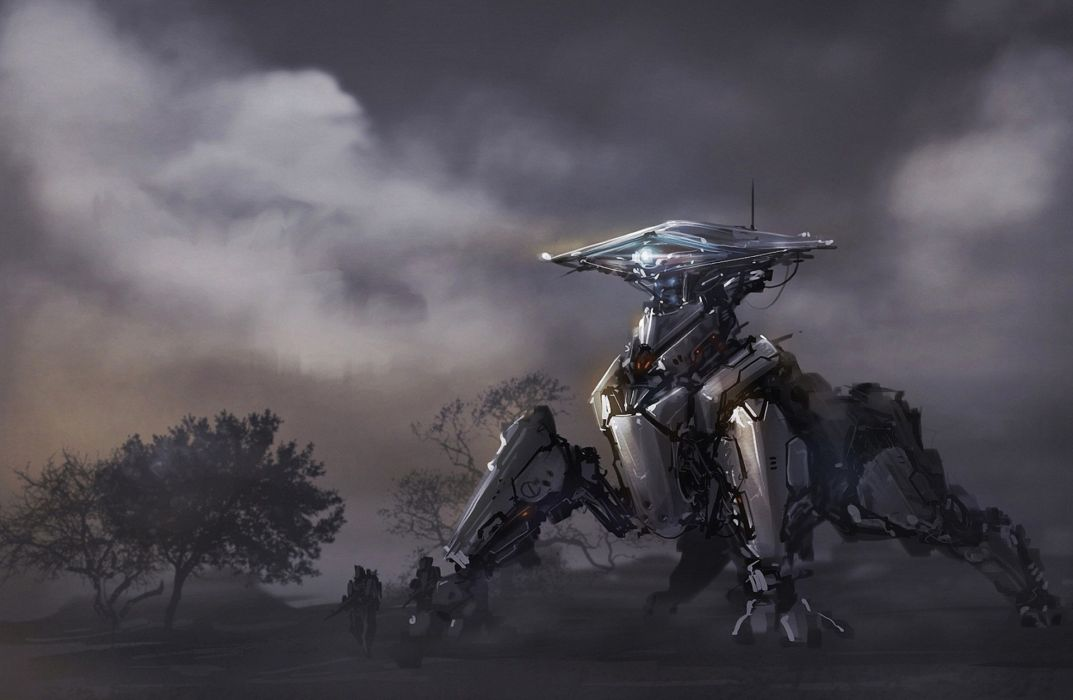 Technics Robot Fantasy wallpaper