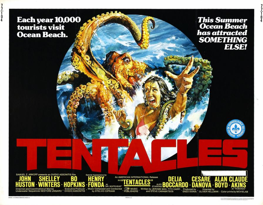 Tentacles Movie Poster wallpaper