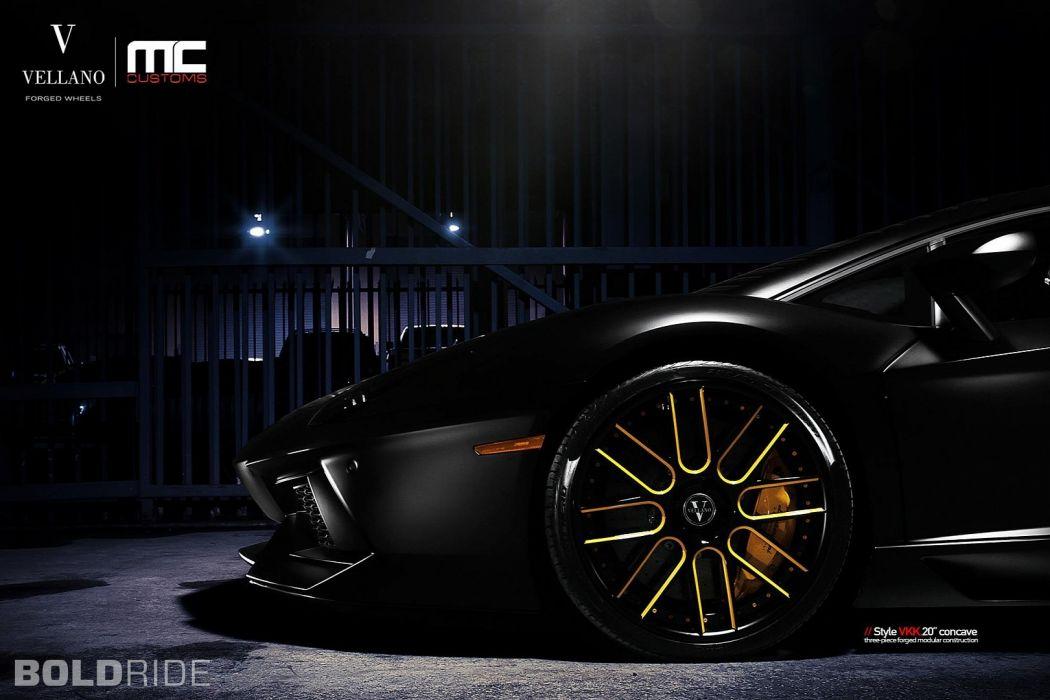 Vellano Wheels 2012 Lamborghini Aventador LP700 supercar supercars      a wallpaper